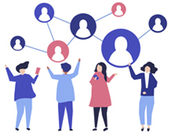 Be a member of the Friends of IBSA network